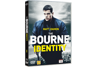 The Bourne Identity Action DVD