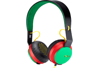 MARLEY On Ear - Over Ear Headphones Roar Rasta - (EM-JH081-RA)