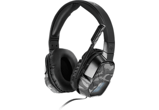 PDP Afterglow LVL 5, Stereo Gaming Headset, Camouflage/Weiß