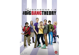The Big Bang Theory S1-9 DVD Komedi DVD