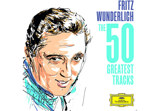 Fritz Wunderlich - Fritz Wunderlich: The 50 Greatest Tracks [CD]