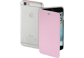 HAMA Clear Bookcover Apple iPhone 7 Polyurethan/Kunststoff Rosa