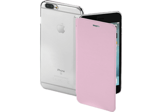 HAMA Clear Bookcover Apple iPhone 7 Plus High-Tech-Polyurethan (PU)/Kunststoff Rosa