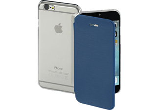 HAMA Clear, Bookcover, iPhone 7, High-Tech-Polyurethan (PU)/Kunststoff, Dunkelblau