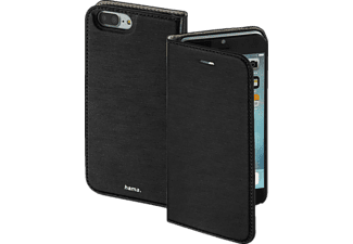 HAMA Slim, Bookcover, iPhone 7 Plus, High-Tech-Polyurethan (PU), Schwarz