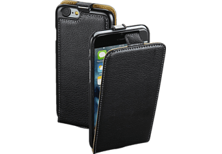 HAMA Guard, Flip Cover, Apple, iPhone 7, Leder (Obermaterial), Schwarz