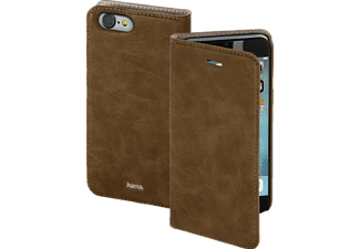 HAMA Guard Case, Bookcover, iPhone 7, Braun