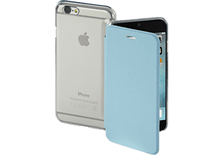 HAMA Clear Bookcover Apple iPhone 7 Polyurethan/Kunststoff Lichtblau