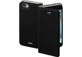 HAMA Guard Case, Bookcover, iPhone 7 Plus, Kunstleder, Schwarz
