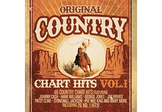 VARIOUS - Original Country Chart Hits Vol.1 - (CD)