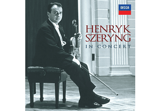 Violin: Henryk Szeryng - In Concert [CD]