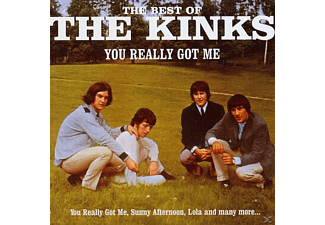 The Kinks - YOU REALLY GOT ME - THE BEST OF THE KINKS [CD]