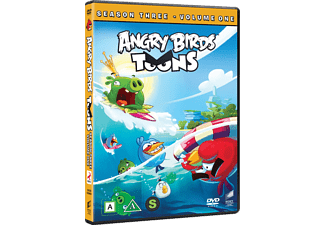 Angry Birds Toons S3, Vol.1 Animation / Tecknat DVD