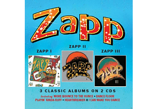 Zapp - Zapp/Zapp II/Zapp III (3 Classic Albums on 2 CDs) [CD]