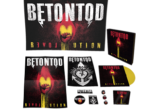 Betontod - Revolution (Ltd. Edition Fanbox) [LP + Bonus-CD]