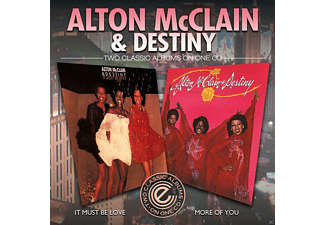 Alton McClain, Destiny - It Must Be Love/More Of You (Remastered) [CD]