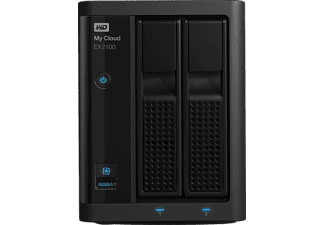 WD MY Cloud 3.5 inç EX2100 0 TB 3.5 inç 1 GB Hafıza USB 3.0 Gigabit Ethernet Disksiz NAS