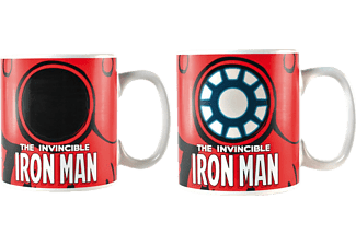 Iron Man - Thermoeffekt-Tasse
