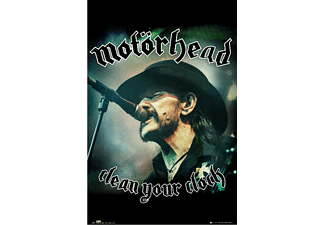 Motörhead Poster Lemmy Clean Your Clock