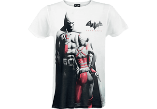 Batman & Harley Quinn Arkham City - T-Shirt L