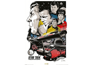 Boldly Go-50th Anniversary-Poster
