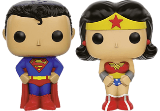 DC Comics Salz-& Pfefferst. Superman & Wonderwoman