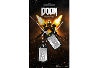 Doom Dog Tag Logo