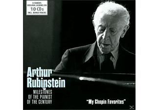 Arthur Rubinstein - My Chopin Favorites - (CD)