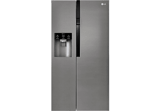 LG GSL 361 ICEZ Side-by-Side (375 kWh/Jahr, A++, 1790 mm hoch, Graphit)