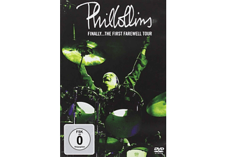 Phil Collins - FINALLY - THE FIRST FAREWELL TOUR - (DVD)