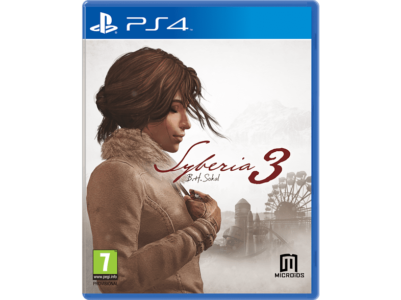 Syberia 3 PlayStation 4 gaming games ps4 games