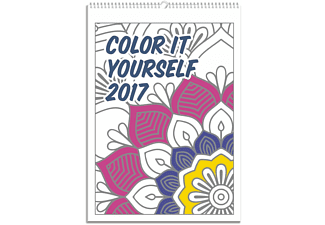 Colour It Yourself 2017 Kalender zum Ausmalen