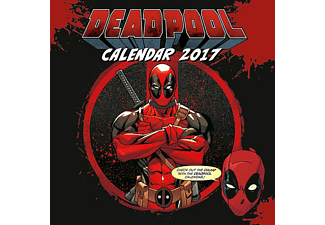 Deadpool Kalender 2017 Marvel