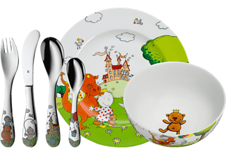 WMF 12.8505.9964 The Peppels 6-tlg. Kinderbesteck-Set