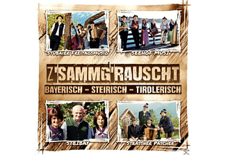 Diverse Interpreten - Zsammgrauscht/Bayr.-Steir.-Tirolerisch - (CD)