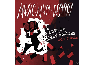 Henry Rollins, Ruts Dc - Music Must Detroy (Single Feat. Henry Rollins) - (5 Zoll Single CD (2-Track))