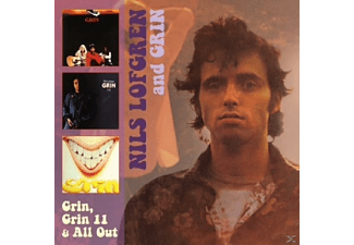 Grin - Grin,Grin 1+1,& All Out [CD]