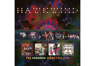 Hawkwind - Charisma Years 1976-1979 (4CD Clamshell Box) - (CD)
