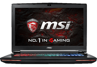 MSI GT72VR-6REAC16H51, Gaming Notebook mit 17.3 Zoll Display, Core™ i7 Prozessor, 16 GB RAM, 512 GB SSD, 1 TB HDD, GeForce GTX 1070, Schwarz
