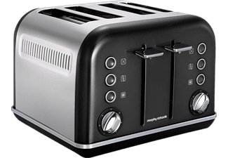MORPHY RICHARDS 242018 Accents Toaster Schwarz ()