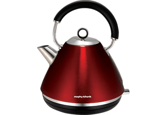 MORPHY RICHARDS 102004 Accents Wasserkocher Rot (2200 Watt)