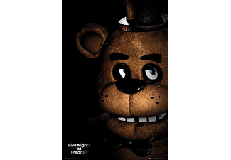 Five Nights At Freddy's Poster Fazbear