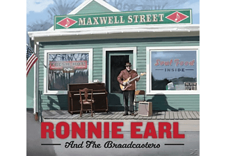 Ronnie Earl, The Broadcasters - Maxwell Street [CD]