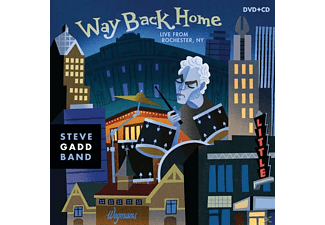 Steve Band Gadd - Way Back Home-Live From Rochester,Ny - (DVD + CD)