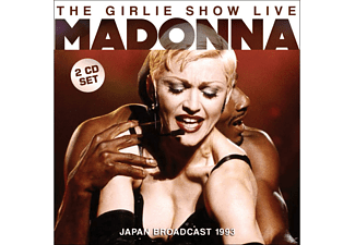 Madonna - The Girlie Show Live - (CD)