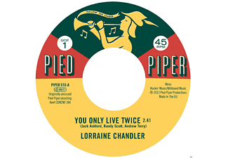 Lorraine Chandler, The Pied Piper Players - You Only Live Twice - (Vinyl)