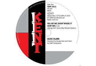 Alice Clark, The Devonnes - You Hit Me (Right Where It Hurt Me) - (Vinyl)