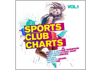 VARIOUS - Sports Club Charts Vol.1 - (CD)