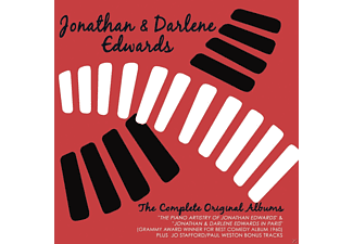 Jonathan & Darlene Edwards - The  Complete Original Albums - (CD)