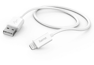 HAMA USB Cable lighting White για Apple iPod/iPhone/iPad, 1 m- (138222)